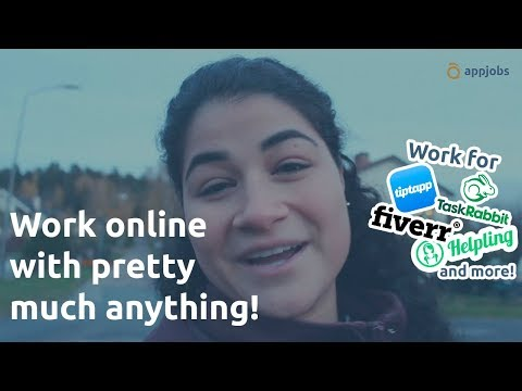 Work online with pretty much anything! | AppJobs