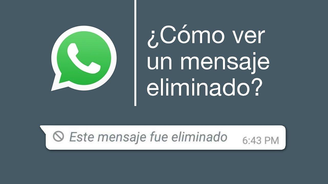 Espiar conversaciones WhatsApp Android borradas