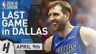 Dirk Nowitzki Full Game Highlights | Phoenix Suns vs Dallas Mavericks | April 9, 2019 | 2018-19 NBA Season ✓   Subscribe, Like & Comment for More!