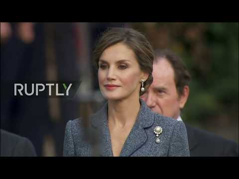 LIVE: King Felipe and Rajoy attend Spanish National Day mili