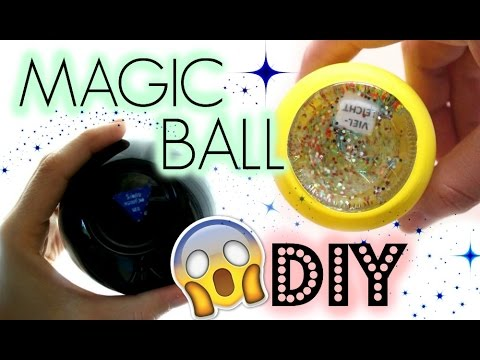 image of do it yourself magic 8 ball craft