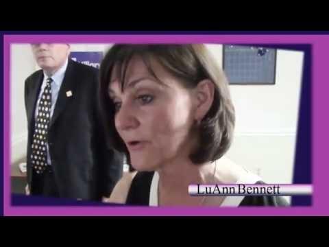 Samara Interviewing LuAnn Bennett ( Running for congress -VA District 10) for her Kid's Blog