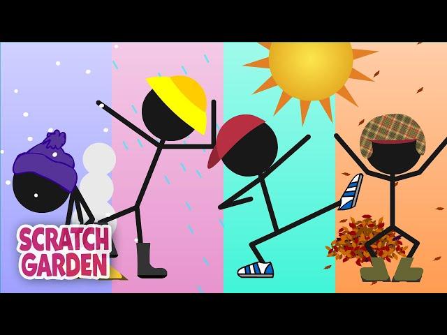 The Seasons Song | Scratch Garden