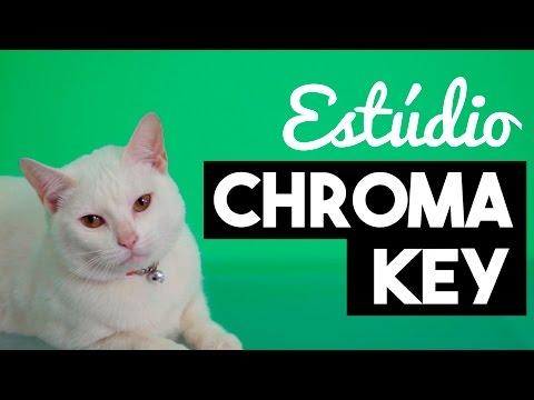 Como fazer Estúdio de Chroma Key Caseiro