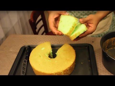 RESEP KUE BOLU PANDAN ( PANDAN CHIFFON CAKE RECIPE )