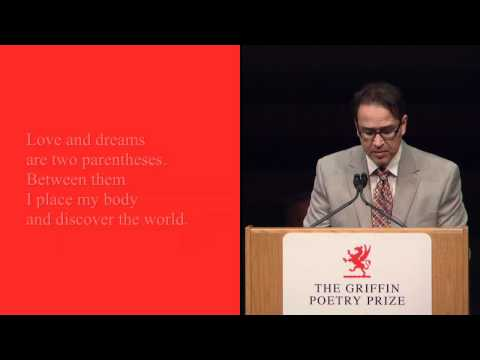 Translator Khaled Mattawa reads from Adonis: Selected Poems