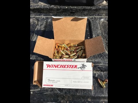 Shooting/Review Winchester 9mm Luger 115 Grain FMJ Ammo