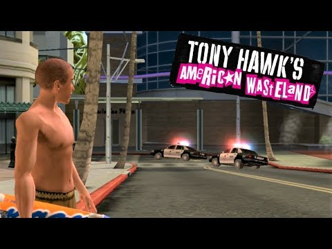 Tony Hawk's American Wasteland #7: Skateclub and Santa Monica! (Sick Difficulty)