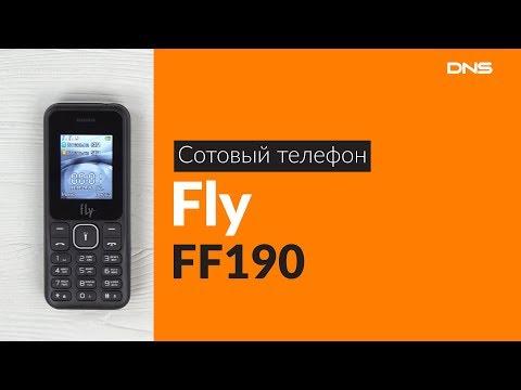 Распаковка сотового телефона Fly FF190 / Unboxing Fly FF190