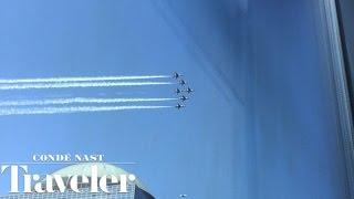 Air Force Thunderbirds Buzz One World Trade Center