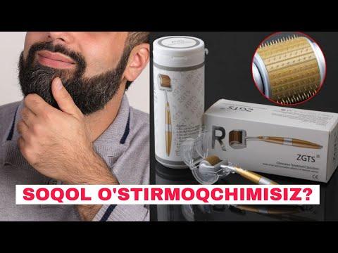 Soqol o'stirishni osonlashtirish uchun - Mezoroller | AbuSolihShop.