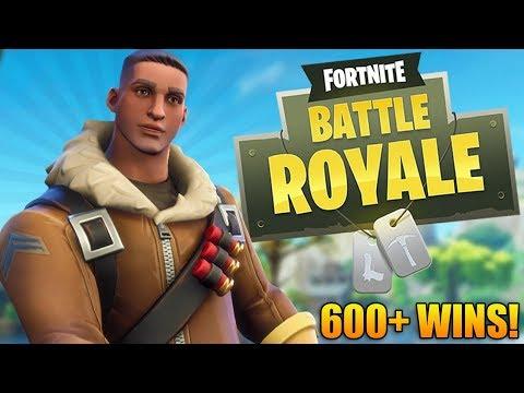 Fortnite Battle Royale: TRY-HARD TRAINING! - 600+ Wins - Level 85+ - Fortnite Gameplay - (PS4) thumbnail