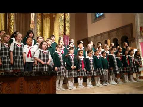 Our God Is Here - St Cecilia Children's Choir 2016