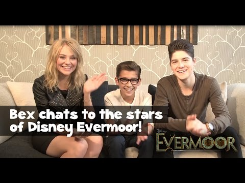Disney Evermoor's Finney Cassidy, George Sear and Georgia Lock chat to Bex!