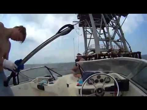 Gulf Of Mexico Rig free diving