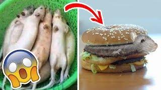 7 Comidas Falsificadas en China que Podrias estar Comiendo