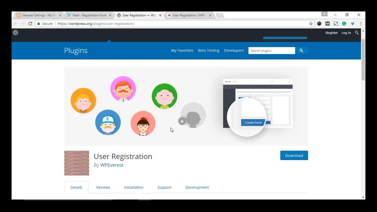 How to create Registration forms in WordPress