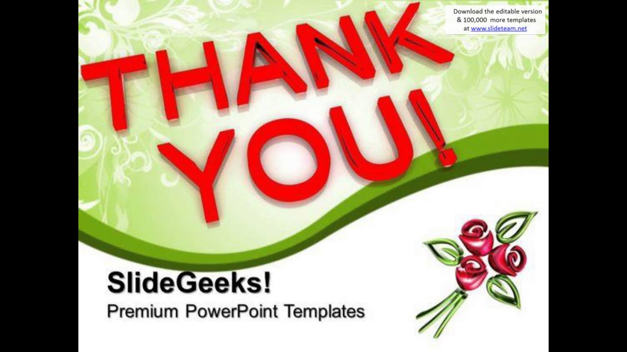 thank you powerpoint templates and powerpoint themes 1112, Modern powerpoint