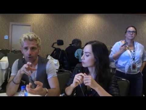 SDCC 2018: Legends of Tomorrow Matt Ryan and Courtney Ford ConstantineNora Darhk