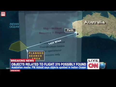 Latest NEWS Malaysia airlines flight 370 debris found in Australian search zone Indian Ocean 1
