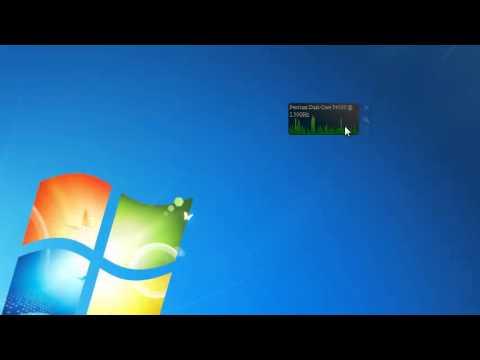 CPU Graph Windows 7 Gadget