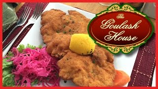 Wiener Schnitzel From The Goulash House In Newmarket, Ontario