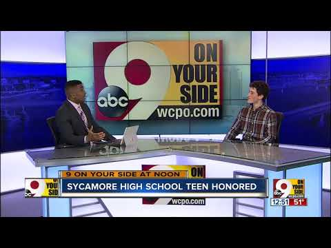 Sycamore High School teen honored