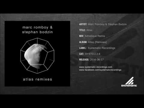 Marc Romboy & Stephan Bodzin - Atlas (Adriatique Remix) [SYST0113-6]