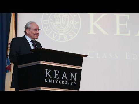 Journalist Bob Woodward Kicks Off Kean's Distinguished Lecture Series