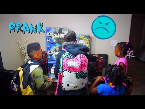 Giving Kids A Lot Of Presents PRANK