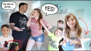 """I said """"YES"""" to my 5 kids for 24 hours ..."""