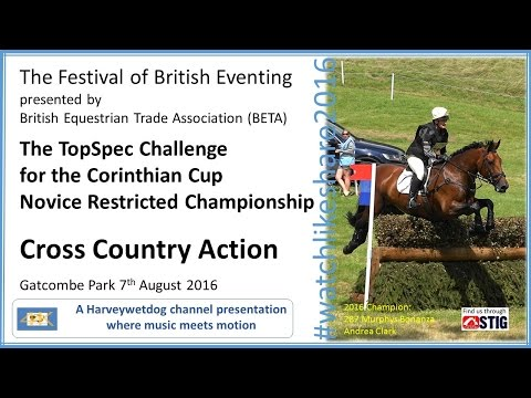 Festival Of British Eventing 2016: Corinthian Cup Cross Country