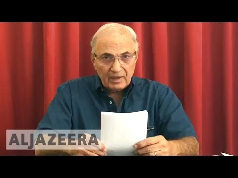 Former Egyptian PM Ahmed Shafiq 'blocked' from leaving UAE