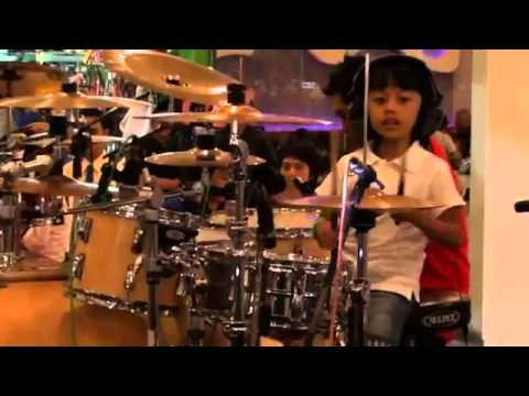 Ibrahim Drum Cover - cinta gila at music for unity - SMI SOLO