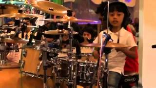 Video Ibrahim Drum Cover - cinta gila at music for unity - SMI SOLO download MP3, 3GP, MP4, WEBM, AVI, FLV Agustus 2017
