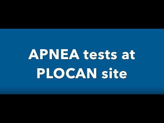 Tests para la validación del nuevo dispositivo oceanográfico APNEA de OCEOMIC