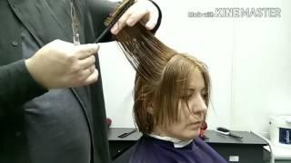 Видеоурок 1. Женская стрижка для жестких волос.