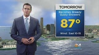CBSMiami.com Weather 10/18/17 11 PM thumbnail