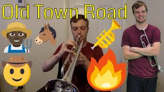 Old Town Road -- Trumpet/Vocal Cover by Carter Miller