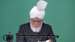 Die Stimme des Kalifen    Opferbereitschaft für Tehrik-e-Jadid