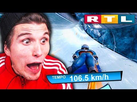 Der RTL Wintersport SIMULATOR