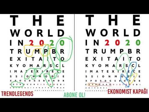 The Economist Kapak Yorumu   2020 Neden var? Btc Neo  Xrp Eth Yazıları Neden var?