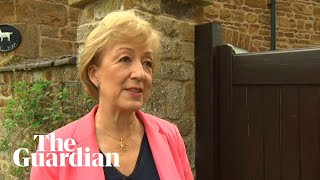 'I'm a decisive and compassionate leader who can reunite our great country' says Leadsom