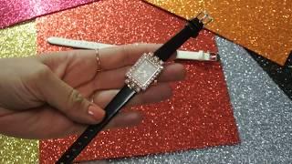 Наручные женские часы видео обзор часов очень красивые часики