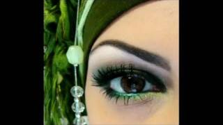 smokey green eyes makeup tutorial