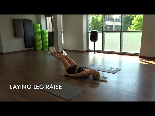 Laying Leg Raise