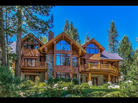 Log Home Living In Olympic Valley, California