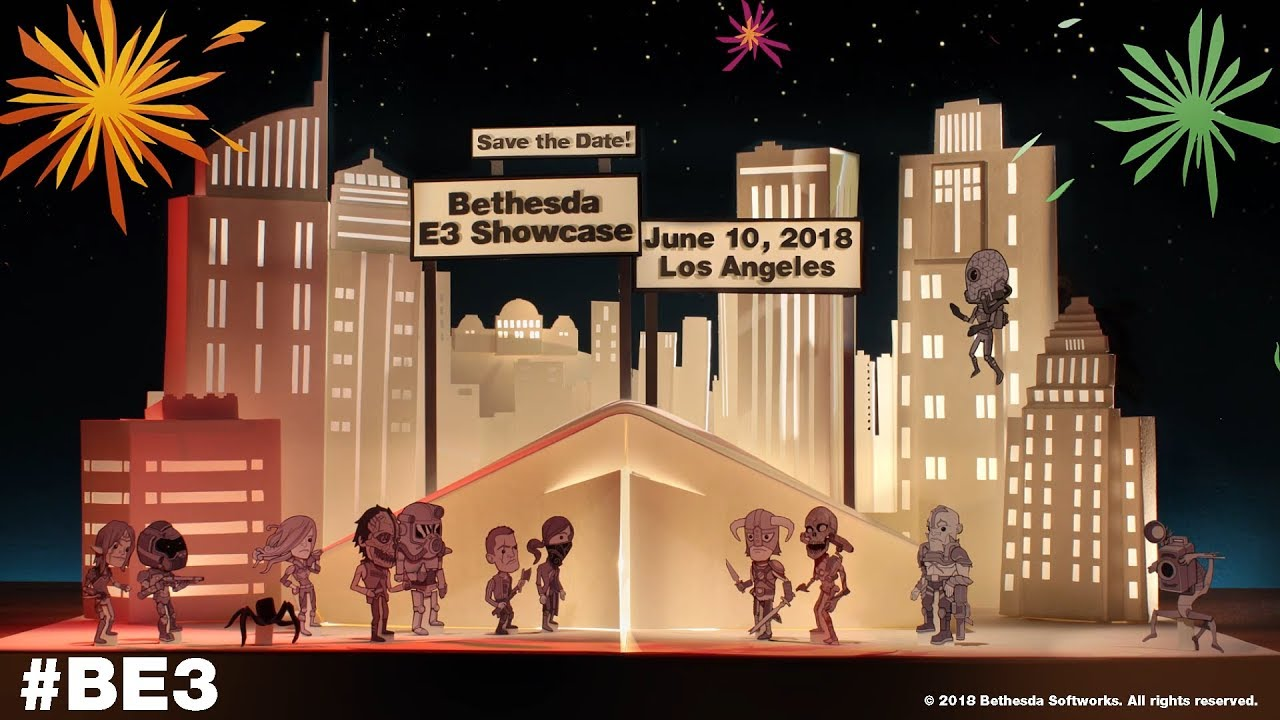 Save the Date for the Bethesda E3 2018 Showcase
