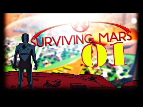 FIRST LOOK: FRESH NEW BASE ON THE RED PLANET ► Surviving Mars #1