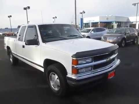 Sold 1997 Chevrolet C K 1500 Extended Cab Short Bed 4wd Bellevue Enumclaw Wa V4142